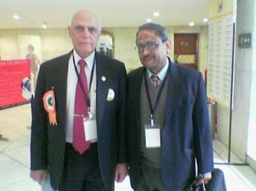 With Dr. Chittaranajan Ranawat, Director of New York Hospital for special Surgery